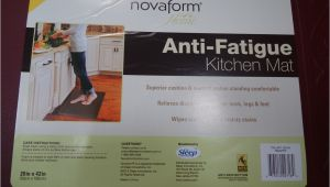 Anti Fatigue Kitchen Mats at Costco Novaform Anti Fatigue Kitchen Mat