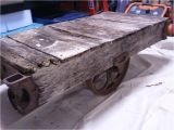Antique Mining Cart for Sale How to Build A Factory Cart Coffee Table Restore An Old Factory Cart