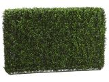 Artificial Hedges for Outdoors 3 39 Wide 2 39 Tall Artificial Outdoor Uv Boxwood Hedge