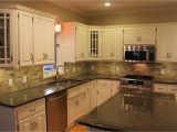 Backsplash Ideas for Black Granite Countertops and Maple Cabinets Tile Backsplashes with Granite Countertops Black Kitchen Granite