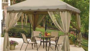 Backyard Creations Replacement Canopy 10×13 Furnish Irresistible Backyard Creations Gazebo Getaways