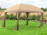 Backyard Creations Replacement Canopy 10×13 Garden Winds 13 X 10 Domed Gazebo Replacement Canopy