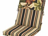 Backyard Creations Replacement Cushions Backyard Creations Raven Floral Chair Cushion at Menards