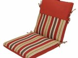 Backyard Creations Replacement Cushions Backyard Creations sorrento Stripe Chair Cushion at Menards