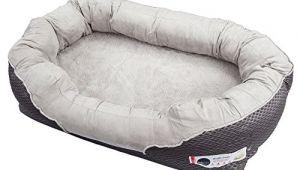 Barksbar Snuggly orthopedic Dog Bed Barksbar Large Gray orthopedic Dog Bed 40 X 30 Inches