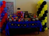 Batman Vs Superman Party Ideas Batman and Superman Candy Buffet Superheroes