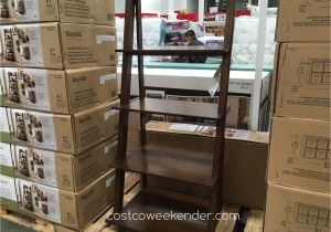 Bayside Furnishings Ladder Bookcase Bayside Furnishings Ladder Bookcase Costco Weekender