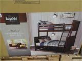Bayside Twin Over Full Bunk Bed Bayside Furnishings Midland Twin Over Full Bunkbed