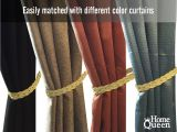 Bed Bath and Beyond Curtain Holdbacks Amazon Com Home Queen Hand Braided Curtain Tie Back Buckle
