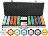 Best Clay Poker Chip Sets Custom wholesale Las Vegas Abs Plastic Poker Chips Set
