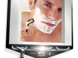 Best Fogless Lighted Shower Mirror Zadro Fogless Lighted Shower Mirror with Clock Month