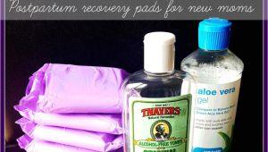 Best Pads for Postpartum Padsicles Diy Postpartum Padsicles Baby Mom Hospital Stuff Pinterest
