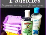 Best Pads for Postpartum Recovery Diy Postpartum Padsicles Baby Mom Hospital Stuff Pinterest