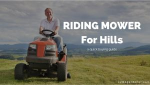 Best Riding Mower for Hills top 3 Best Riding Mower for Hills Reviews Buying Guide