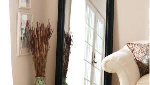Better Homes and Gardens Black Leaner Full-length Floor Mirror Better Homes and Gardens Black Leaner Full Length Floor
