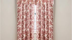 Big Lots Kitchen Curtains Living Colors Verona Wine Curtain Panels and Valance Big