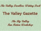 Big Valley Writing Desk A Tribute to Peter Breck by James Drury the Virginian In