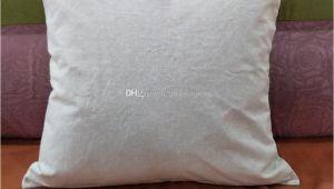 Blank Linen Pillow Covers wholesale Plain Natural Linen Pillow Case Blank Linen Pillow Cover with Hidden