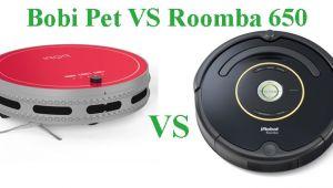 Bobi Pet Vs Roomba Robots Vacuum Cleaners Comparison and Reviews