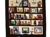 Bookshelf Memory Quilt Pattern Bookcase Quilt I Want to Try One Of these so Badly
