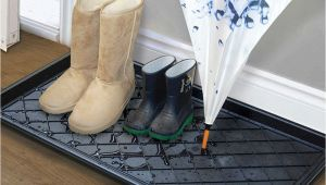 Boot Tray Bed Bath and Beyond Boot Shoe Tray Mat Floor Clean Dry Rain Snow Entry