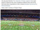 Breaking News In San Marcos Tx Selena S Fan Page Proud Of Como La Flor Sugar Bowl Performance