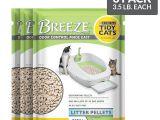 Breeze Litter Box System Reviews Amazon Com Purina Tidy Cats Breeze Pellets Refill Cat Litter 6