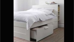 Brimnes Queen Bed Frame with Storage and Headboard Brimnes Bed Frame with Storage Headboard Adinaporter