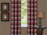 Buffalo Check Curtains Walmart Buffalo Checkered Curtain Panel Available In Multiple