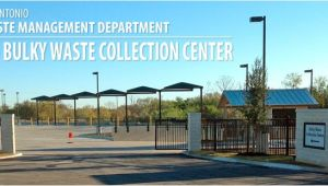 Bulky Item Pickup San Antonio solid Waste Management