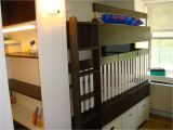 Bunk Bed with Crib Underneath Hand Crafted Bunkbed Crib by Endless Design Custommade Com