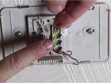 C C Heating and Air How to Replace An Old thermostat by Home Repair Tutor Youtube