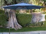 Cantilever Umbrella Deck Mount Coral Coast 9 Ft Steel Offset Patio Umbrella Hayneedle
