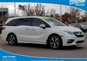 Carpet Cleaners In Rio Rancho Certified Pre Owned 2018 Honda Odyssey Elite Mini Van Passenger In