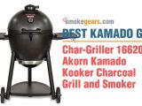 Char Griller Akorn Review Smokegears Com Smokers thermometers Grinder and