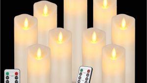 Cheap White Pillar Candles Bulk Uk 2019 Flameless Led Candles Battery Operated Flickering Light Pillar