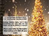 Christmas Light atlanta Ga One Of Our Christmas Tree Rental Promo Flyers Christmas Rentals