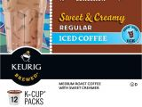 Circle K Iced Coffee Prices Keurig Donut House Collection Sweet Creamy Regular Iced Coffee K
