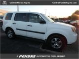 City Kia orange Blossom Trail orlando Fl 2010 Used Honda Pilot 2wd 4dr Lx Suv for Sale In orlando Fl White