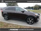 City Kia orange Blossom Trail orlando Fl 2017 Used Kia sorento Ex V6 Fwd at Central Florida toyota Serving