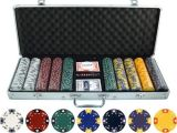 Clay Poker Chip Sets Amazon 13 5g 500pc Ace King Tricolor Clay Poker Chip Set toys