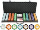 Clay Poker Chip Sets Amazon 500 Piece Monte Carlo Clay Poker Chips Set Welcome to