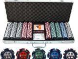Clay Poker Chip Sets Amazon 500pc Pro Poker 13 5g Clay Composite Poker Chip Set with
