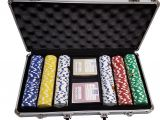 Clay Poker Chip Sets with Denominations 300 Desert Palace Casino 11 5gr Poker Chips Custom Set