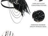 Cluster Fly Traps Homemade Amazon Com 1920 Headpiece 1920s Accessories Women Vintage Feather