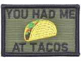 Come Back with Tacos Doormat You Had Me at Tacos 2×3 Patch Tactical Gear Junkie