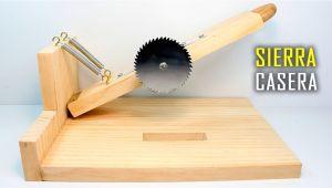 Como Hacer Una Maquina Para Cortar Ceramica Casera Sierra Casera Sierra Circular Casera Sierra De Banco A Mesa