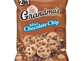 Cookie Delivery Bryan College Station Grandma S Mini Chocolate Chip Cookies 2 1 Prepriced 1 55 Oz Bag