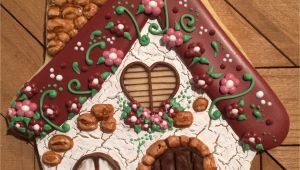 Cookies by Design Mentor Ohio Fairy House Cookie Gingerbread House Cookie Royal Icing Stonework
