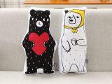Cortinas De Baño De Tela En Walmart Cute Bear Ins 50 25cm Children Kids Bedroom toy Dolls sofa Car Seat